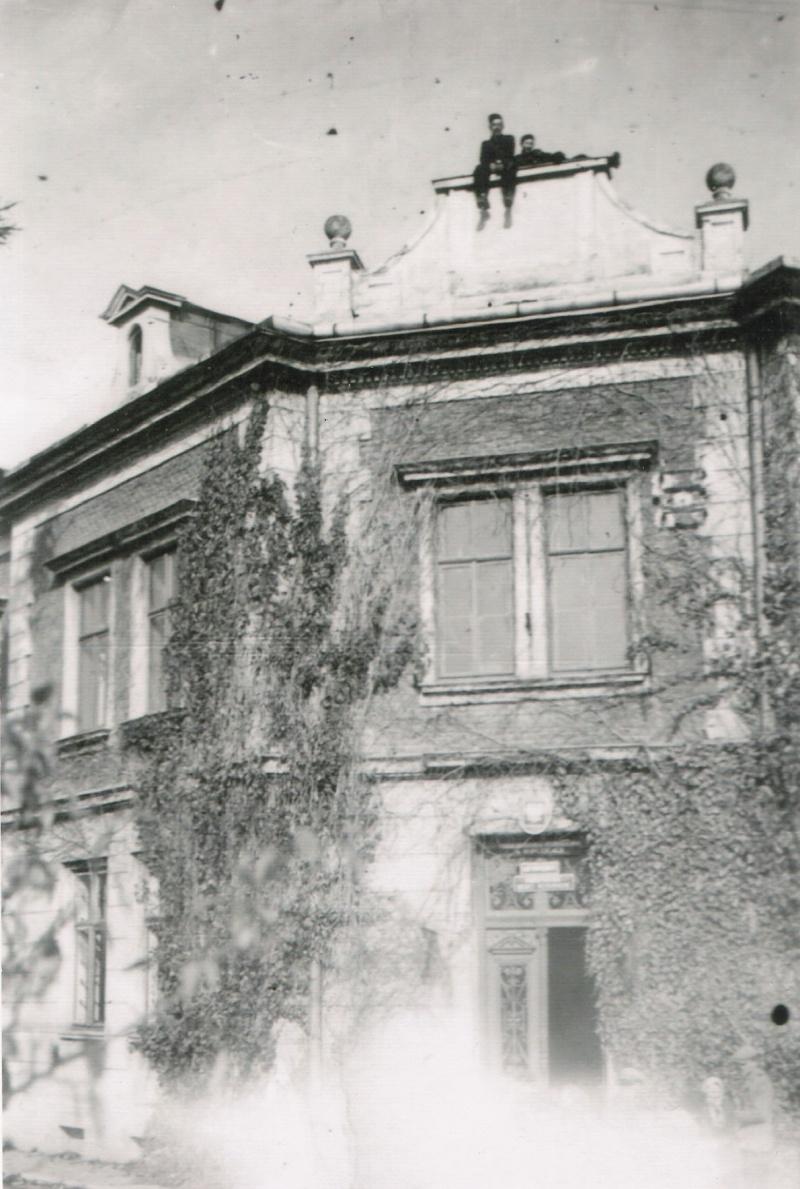 Widok sądu w latach 50. XX w.